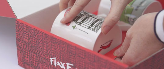 Flax Fox Gift Box Video image